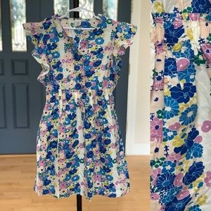 Crewcuts, size 10 floral dress LIKE NEW!